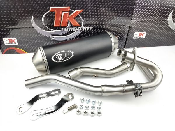Turbo Kit Sport Quad ATV Auspuff SMC RAM Captain Titan 250 300 4T