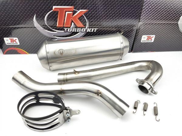 Edelstahl Turbo Kit Quad ATV Sport Auspuff Honda TRX 450 R Quad ATV 4T