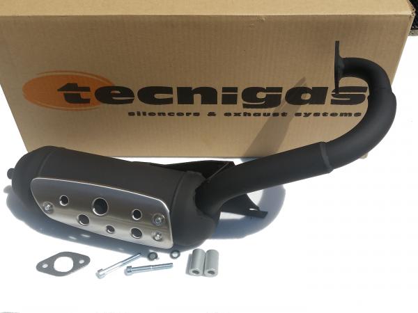 Auspuff Tecnigas Silent Pro Peugeot SV Geo F121 125 Auspuffanlage