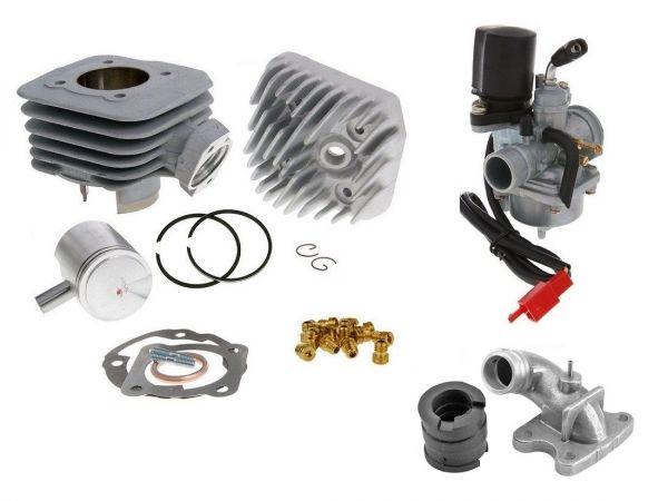 Zylinder Airsal ALU 70ccm Set Peugeot Metal-X Vivacity stehend 50 AC