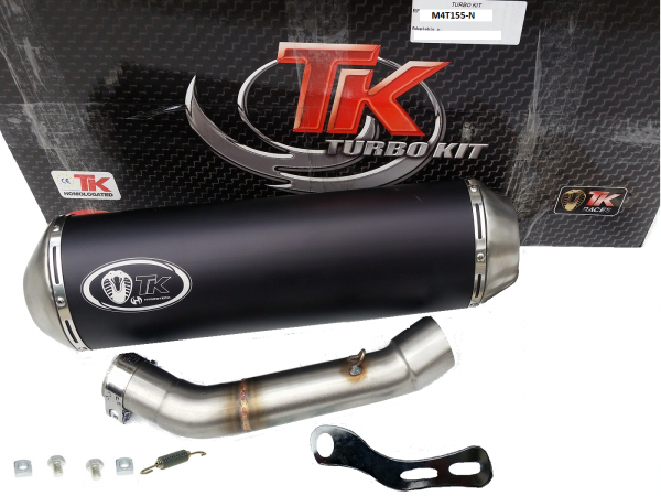 Turbo Kit SLIP-ON Edelstahl Sport Auspuff Honda Integra S NC 750 14-19