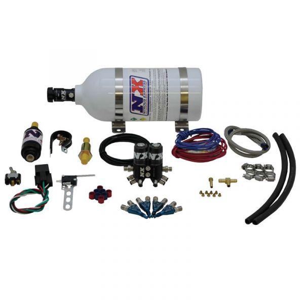 Vierzylinder 4-Zylinder NOS Lachgasanlage NS Nitrous MOTO 4 Motorrad