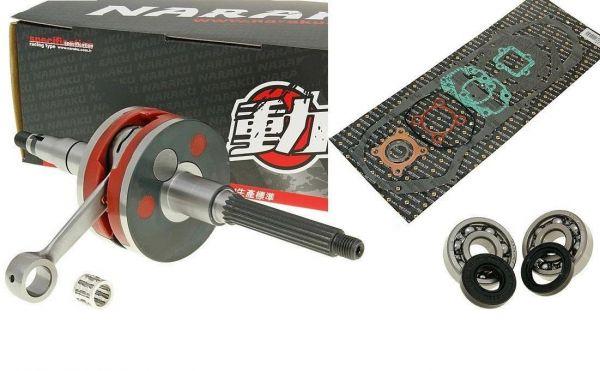 Kurbelwelle Racing HPC Adly Aprilia Beta CPI Tauris Yamaha Minarelli