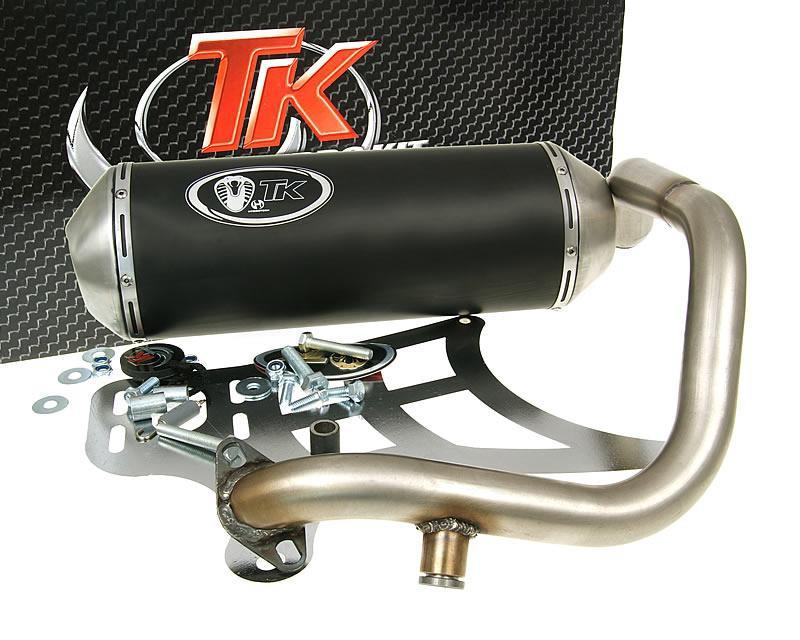 auspuff turbo kit gmax sport kymco grand dink betwin. Black Bedroom Furniture Sets. Home Design Ideas