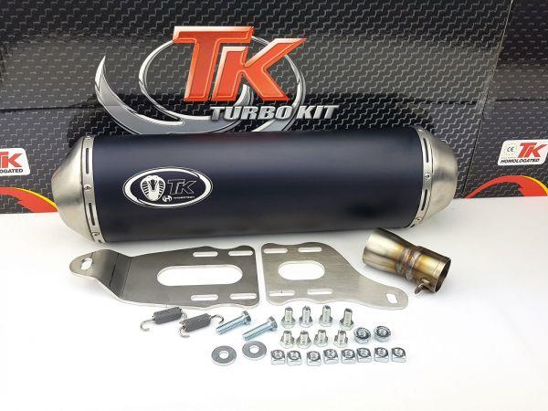 Turbo Kit Max Sport SLIP-ON Auspuff Piaggio Beverly 350 13 14 15 16 4T