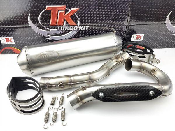 Edelstahl Turbo Kit Sport Auspuff KTM SMR SX EXC HUSQVARNA FS 450 500