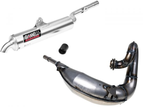 Auspuff Giannelli Sport Enduro Yamaha TDR 125 91-01 Sachs ZX 97-01 2T