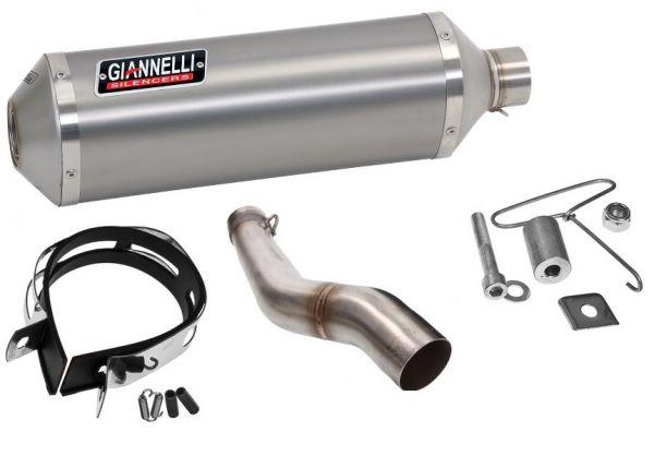 Auspuff Schalldämpfer Giannelli Ipersport Chrom Kawasaki ZX-10R 11-14
