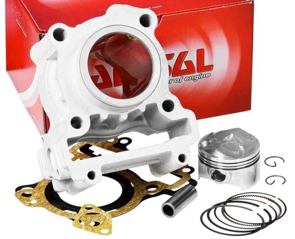 Zylinder Airsal T6 Racing 125ccm MBK Yamaha X-Max City WR YZF 125 R 4T