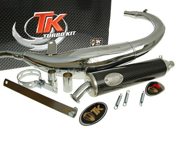 Auspuff Turbo Kit Bajo RQ Chrom/Carbon Motorhispania MH Furia RYZ AM6