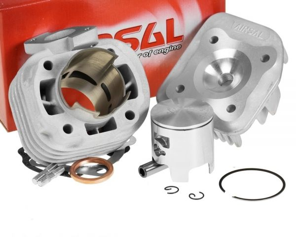 Airsal T6 Racing 70ccm Zylinder CPI Keeway 50 1E40QMB E2 AC 2T 12mm