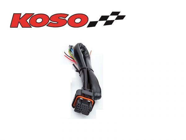 Kabelbaum Ersatz für KOSO BA027O02 Tachometer Drehzahlmesser DB-01R+