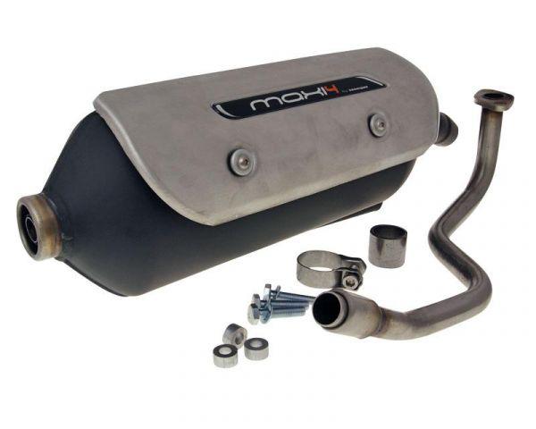 Auspuff Tecnigas Maxi 4N Honda PCX SH Scoopy JF28 125i ESP Motor 4T