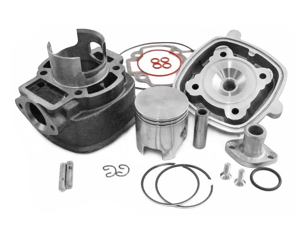 Zylinder 50ccm Sport Parmakit Aprilia Derbi Gilera Piaggio LC 4-eckig