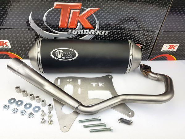 Turbo Kit GMax Sport Auspuff Kymco Grand Dink S4 125s 125i bis 2008 4T
