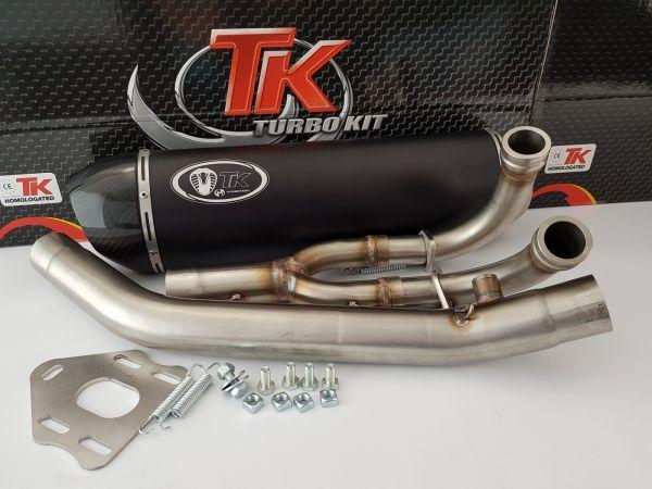 Turbo Kit Max Carbon Sport Auspuff Yamaha Tmax 500 530 500i 530i 04-18