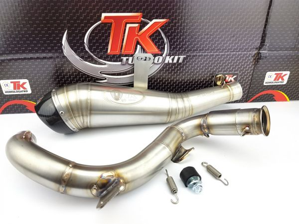 Turbo Kit ROAD GP Carbon Edelstahl Sport Auspuff KTM Duke 125i 17-20