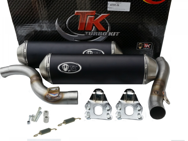 Turbo Kit Sport Double Auspuff KTM Adventure SMT SM 990 950 LC8 LC 8