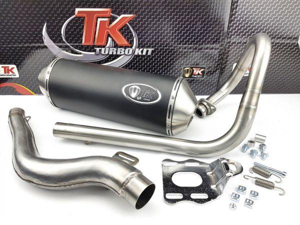 Turbo Kit ROAD Edelstahl Sport Auspuff Rieju MRX BETA RE 125 4 Takt AC