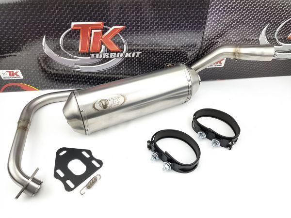 Turbo Kit ROAD Edelstahl Sport Auspuff Rieju RS2 Matrix RS 2 125 4T