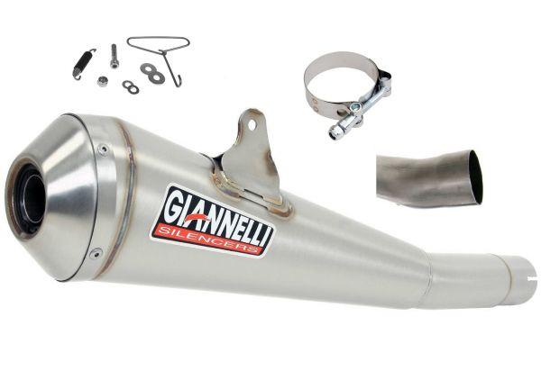 Auspuff Giannelli GX-One Slip On Sport Edelstahl Kawasaki ZX-10R 11–14
