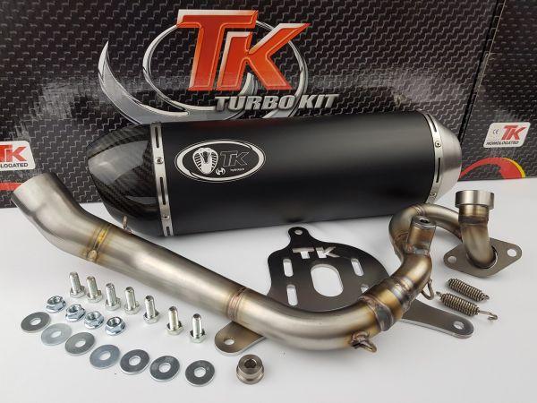 Turbo Kit H2 GMax Sport Auspuff Suzuki Burgman 125 UH125 07 K7 K8 K9