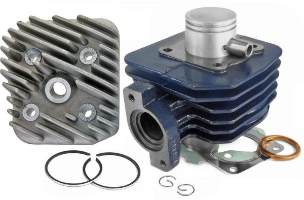 Zylinder 50ccm Sport Blue Line Peugeot Speedfight4 Vivacity liegend AC