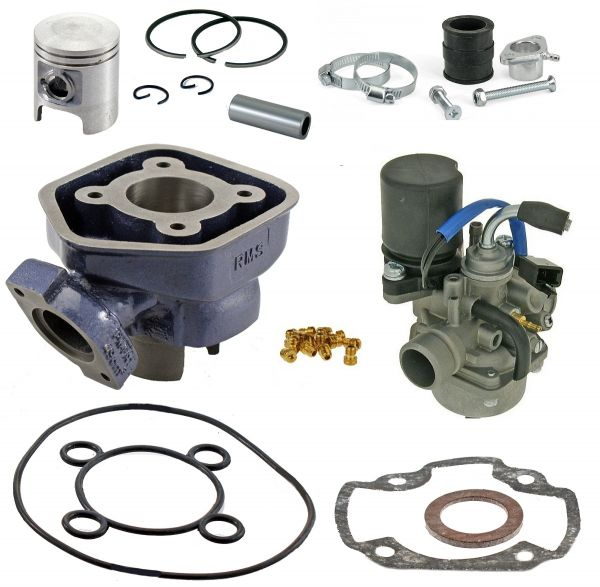 Zylinder KIT RMS Blue Line 50ccm Sport Peugeot Speedfight 1 2 50 LC