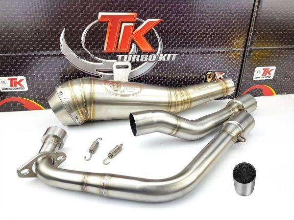 Turbokit ROAD GP Sport Auspuff mit KAT Honda CBR 125 4T 11 12 13 14 15