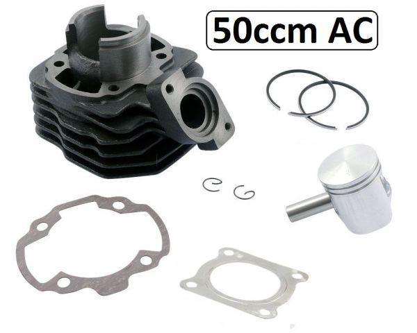 Zylinder 50ccm Peugeot Buxy Elyseo Speedake Splinter Squab Metal AC 50