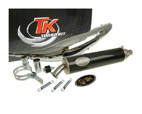 Turbo Kit Road RQ Chrom/Carbon Sport Auspuff Rieju-RS2 50 AM6 H10078-Q