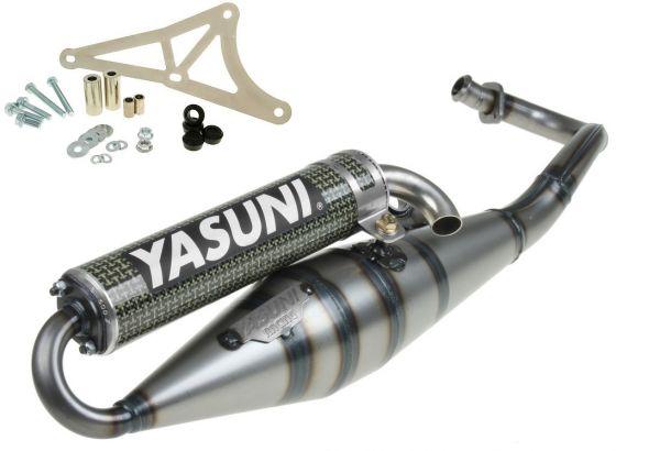 Auspuff Yasuni Scooter Z Carbon Aprilia Derbi Gilera Piaggio 2T 50