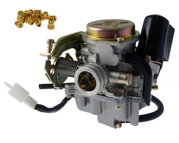Vergaser 19mm Baotian Buffalo REX 139QMB / QMA GY6 4 Takt China 50
