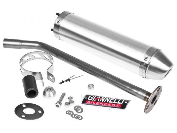 Endschalldämpfer Giannelli ALU Aprilia MX125 SM LC 2T 04-06 Rotax