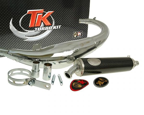 Sport Auspuff Turbo Kit Road RQ Chrom/Carbon Rieju RS 1 50 AM6 2T
