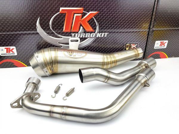 Turbo Kit ROAD GP Sport Auspuff Honda CBR 125 4T 11 12 13 14 15