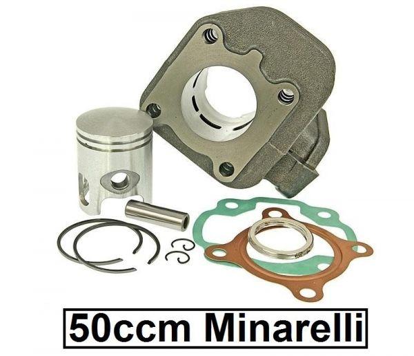 Zylinder 50ccm Aprilia CPI KTM MBK Malaguti Minarelli liegend 10mm AC