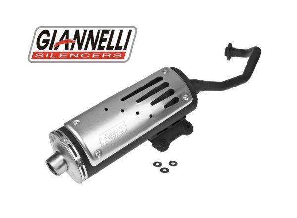 Auspuff Giannelli Freeway Aprilia Scarabeo GT 125/150 99-04 Rotax 4T