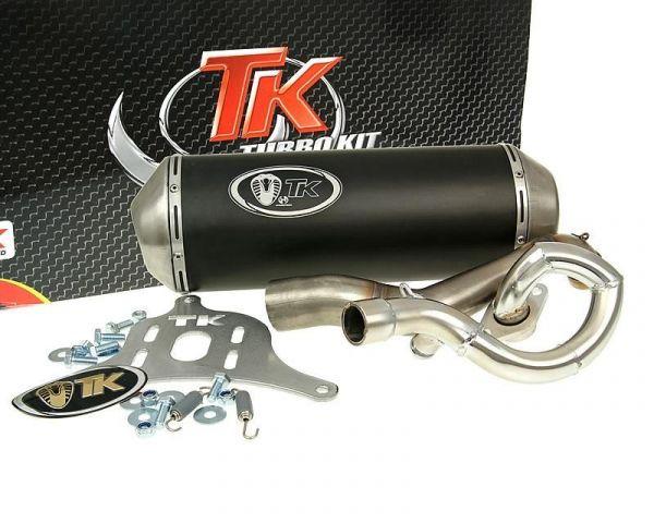 Turbo Kit GMax Sport Auspuff Suzuki Burgman 125 UH125 07 K7 K8 K9 4T