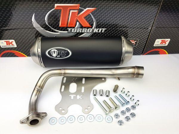 Turbo Kit GMax Sport Auspuff Yamaha Majesty YP125R 125 150 180 4 Takt