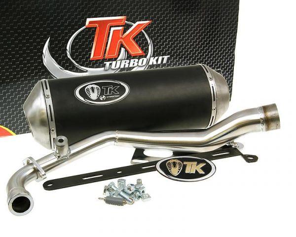 Turbo Kit GMax Sport Auspuff MBK-X Over Yamaha BWs Zuma 125 ie 4T