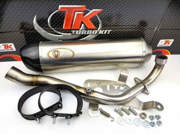 Turbo Kit H2 Sport Auspuff Kymco Downtown Superdink Kawasaki J300 4T