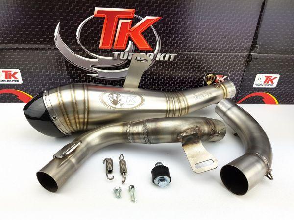 Sport Auspuff Turbo Kit Edelstahl GP KTM RC 125 200 ABS 2011-2016 4T
