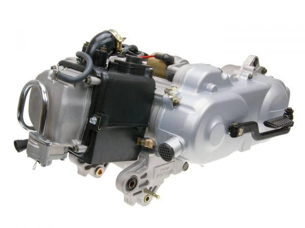 Motor Komplett 10 Zoll mit SLS 139 QMB/QMA 50ccm 4T Komplettmotor