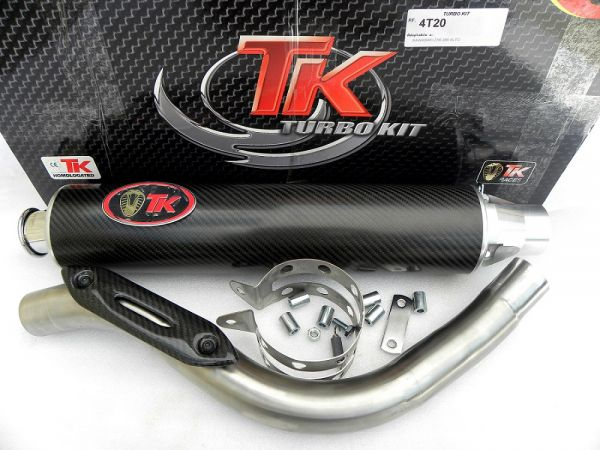 Sport Turbokit Road Auspuff für Kawasaki ZX6 R Ninja 636 SUZUKI RF 900