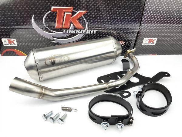 Turbo Kit Sport Maxi Edelstahl Auspuff Kymco People GT GTI 125i 10-16