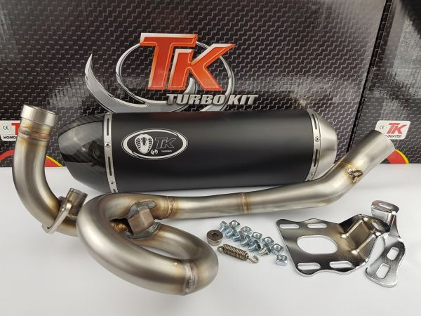 Turbo Kit GMax H2 Sport Auspuff Aprilia Derbi Piaggio X7 X8 MP3 125 LC
