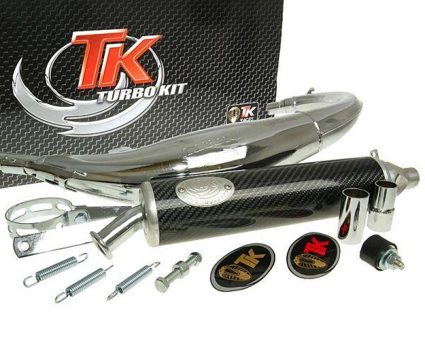 Sport Auspuff Turbo Kit Road RQ Chrom/Carbon Yamaha TZR AM6 H10022-Q