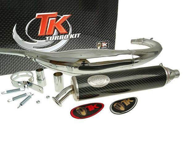 Turbo Kit Road RQ Chrom/Carbon Sport Auspuff Motorhispania AM6 H10071Q