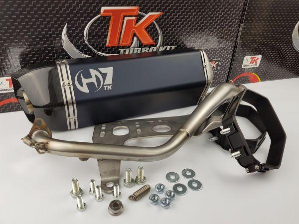Turbo Kit GMax H7 Sport Auspuff Kymco K-XCT 125i 125 KXCT 4T ab 2013